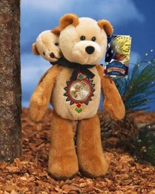 Sacagawea and Pomp Dollar coin bear by Limited Treasures - NEW