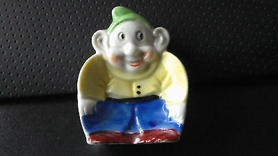 Occupied Japan Disney Hand Painted Dopey (Seven Dwarfs) Tray