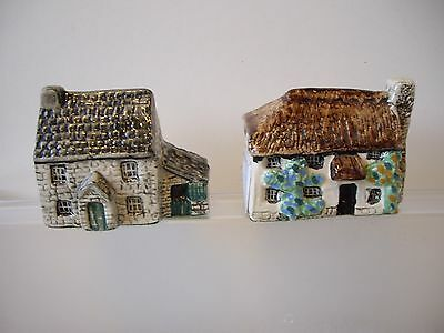 Two Tey Rare Britian in Miniature Pottery Houses