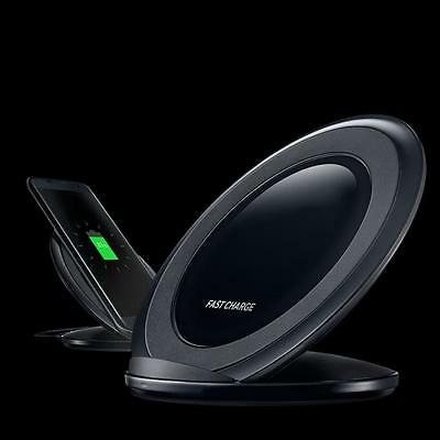 Fast Charger for Samsung Galaxy S7/S7 edge /S6 Qi Wireless Charging Stand Dock