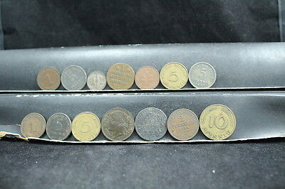 Germany  14 assorted coins  lot G 480