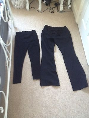 Maternity Work Trousers And Leggings Size 8