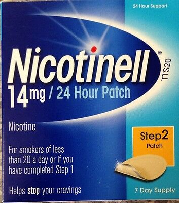 Nicotinell 24hour 14mg Patches Stage 2