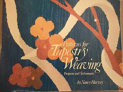 Patterns for Tapestry Weaving. By Nancy Harvey