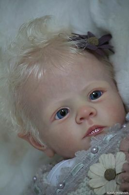 Long sold out Ira elf kit - AUTHENTIC BLANK reborn kit NOT A COMPLETE DOLL