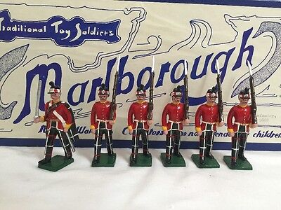 Marlborough Toy Soldiers Made in Wales Highland light Infantry GREAT in Box