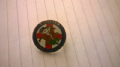 st george -english and proud badge-as new