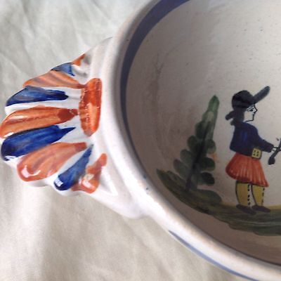 Quimper French Faience Bowl