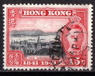Hong Kong KIng George VI SG166 Very Fine Used