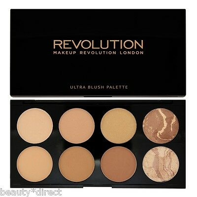 Makeup Revolution Bronzer Contouring Highlighting Palette - All about Bronze