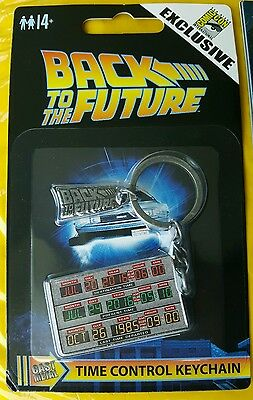 2016 SDCC only Factory Entertainment BACK TO THE FUTURE Time Control Keychain