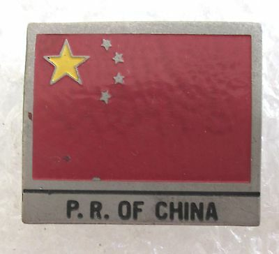 Vintage People's Republic of China Travel Souvenir Collector Pin