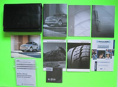 2013 Lincoln Navigator Owner's Manual Guide Set & Case *OEM*