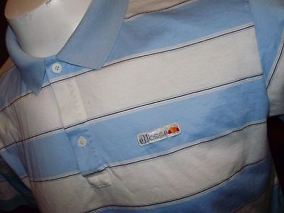 VINTAGE ellesse POLO SHIRT made in Italy medium