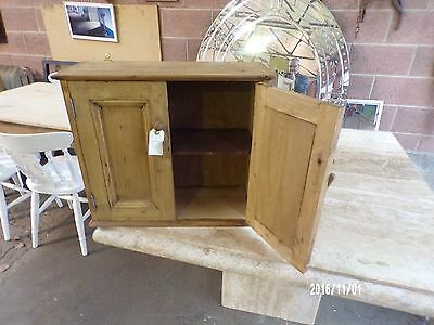 Rustic Pine Wall Cupboard