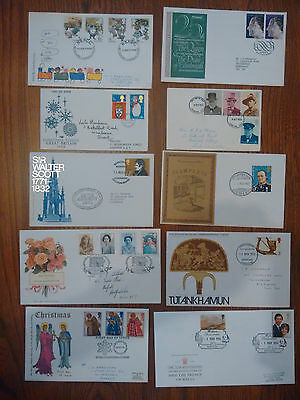 Job Lot of First Day Cover/ Commemoratives X10 Handstamps/ special cancels