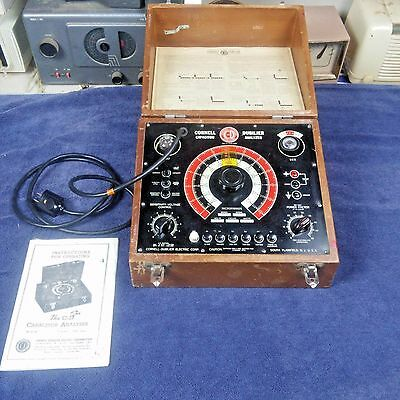 Vintage Cornell Dubilier Capacitor Analyzer Model BF-50