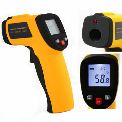 Temperature Gun Non contact Infrared IR Laser Digital Thermometer -58 ~ 1022 °F