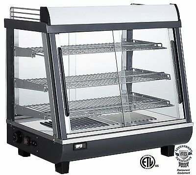 Commercial Countertop Food Warmer Display Case 27 Inch