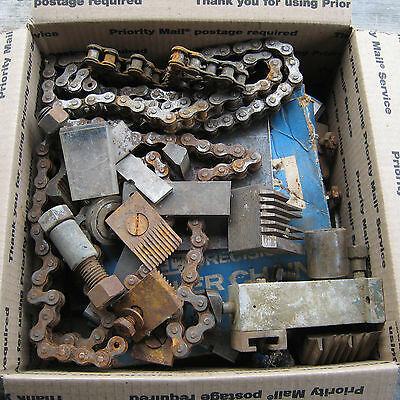 Huge Lot of Grizzly Woodmaster Powermatic Planer Jointer Parts Knife Chain Bolt