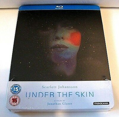 Under The Skin from U.K blu-ray steelbook.New and sealed
