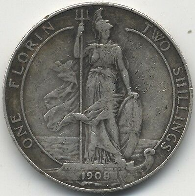 1908 Edward  VII Two Shillings***Collectors***