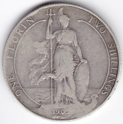 1905 Edward VII One Florin Two Shillings***Collectors***Key Date***