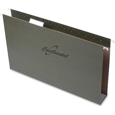 Continental Extra-capacity Standard Green Hanging Folders 37282