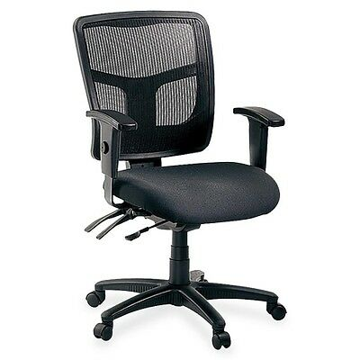 Lorell 86000 Series Managerial Mid-Back Chair 86201
