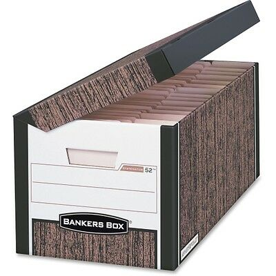 Bankers Box Systematic - Letter/Legal, Woodgrain 00052