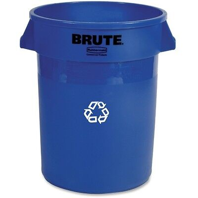 Rubbermaid Heavy-Duty Recycling Container 263273BLUE