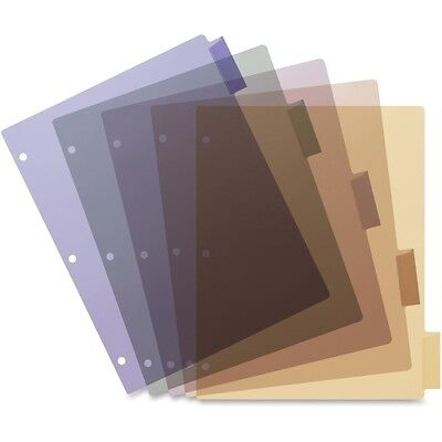 Business Source Poly Index Divider 32368
