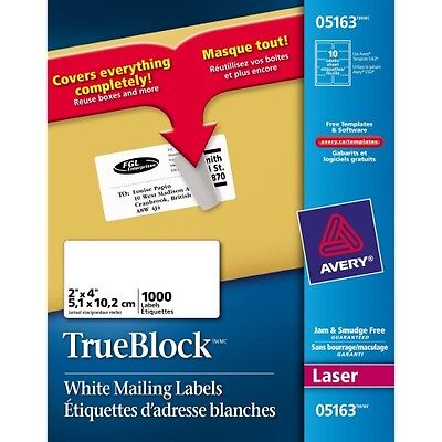 Avery Mailing Label 05163