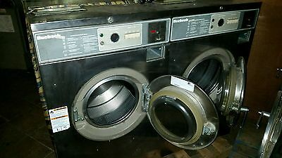 SINGLE PHASE 20lb Huebsch washers (4) machines