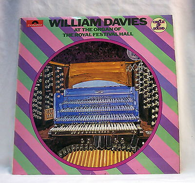 William Davies - Organ - Royal Festival Hall 1971- Polydor 2460 116  EX / EX