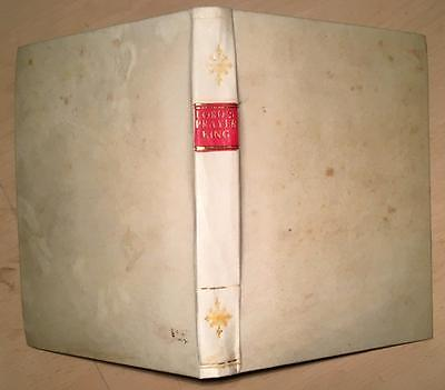 1634. RARE Henry King  'Exposition Of Lords Prayer'  BINDING.  Bible Theology