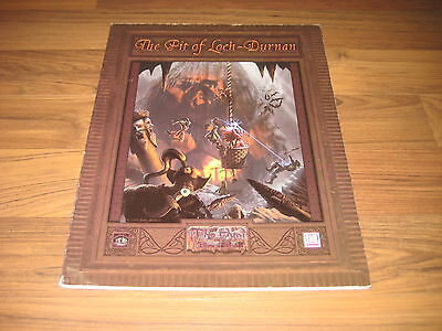 d20 The Pit of Loch-Durnan Adventure Softcover Mystic Eye Games 2001