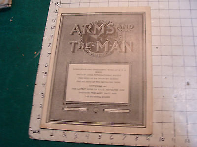 Vintage Magazine: ARMS and the MAN: NRA-1919 aug 30 Wimbledon, Britain, revolver
