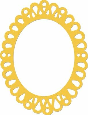 Kaisercraft Die - Oval Ornate Frame - for use in most cutting systems