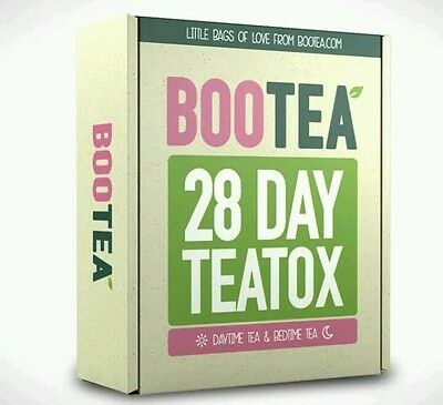 28 DAY TEATOX - By BOOTEA - RRP £37 ** Fast Shipping **