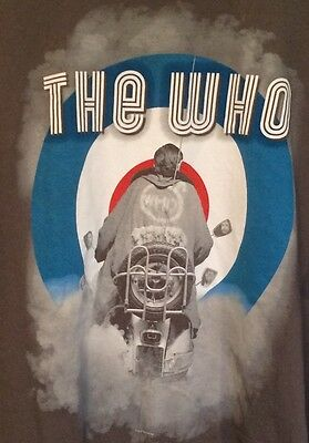 The Who Quadrophenia 2012/2013 North American Tour Concert Shirt Size Adult 2Xl