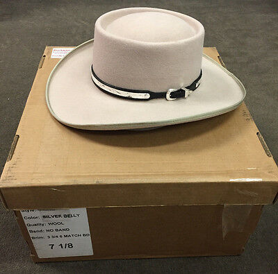 "Official Hank Williams Sr Replica Hat ""I Saw The Light"" Tom Hiddleston NEW 7 1/8"