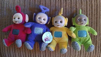 "Teletubbies Set 7"" - All Four - Tinky Winky, Dipsy, Laa Laa And Po"