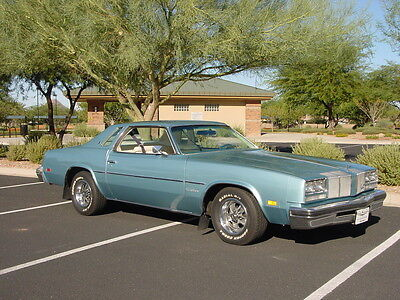 1976 Oldsmobile Cutlass  Factory 455 Motor - Automatic Trans - Factory Gauges + Dual Exhaust - A/C