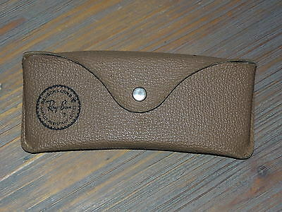 Vintage b&l Bausch & Lomb Ray-Ban Aviator Sunglasses Case Only Made in USA