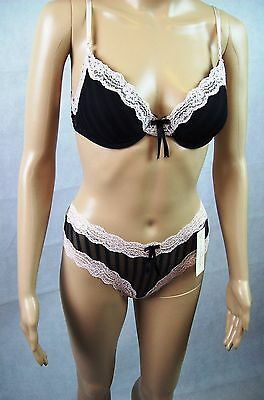 New Elle Macpherson Intimates Lingerie 2 Piece Set - Size 12B Bra + Small Thong