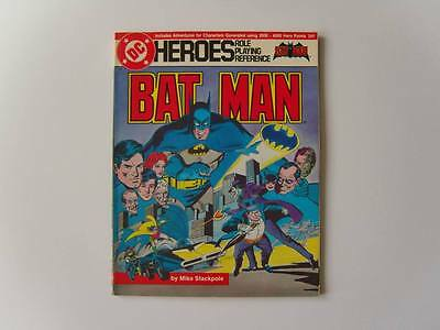 DC Heroes Role Playing Game, Reference 205, Batman