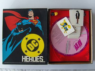 DC Heroes Role Playing Game, Mayfair Games, 1989, Boxed