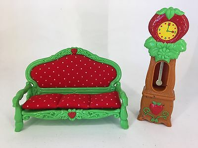 Vintage 1980s Strawberry Shortcake - Berry Home Furniture - Lounge Room Set