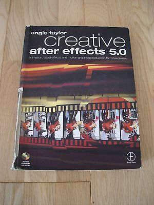 Creative After Effects 5.0 Includes Cd-Room For Mac And Pc, By Angie Taylor